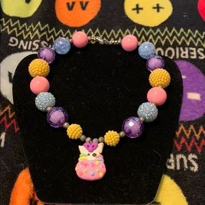 Hand-made kids necklace